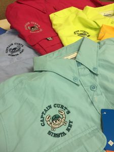 Captain Curt's Embroidered Fishing Shirts