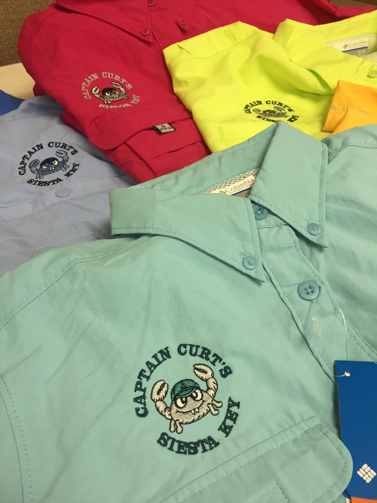 Gallery koala tee for Embroidered columbia fishing shirts